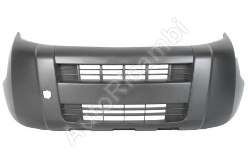 Bumper Fiat Fiorino 2007-2016 front, without fog lights - VAN
